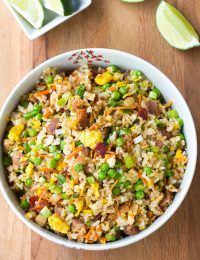 Triple Pork Fried Rice Recipe