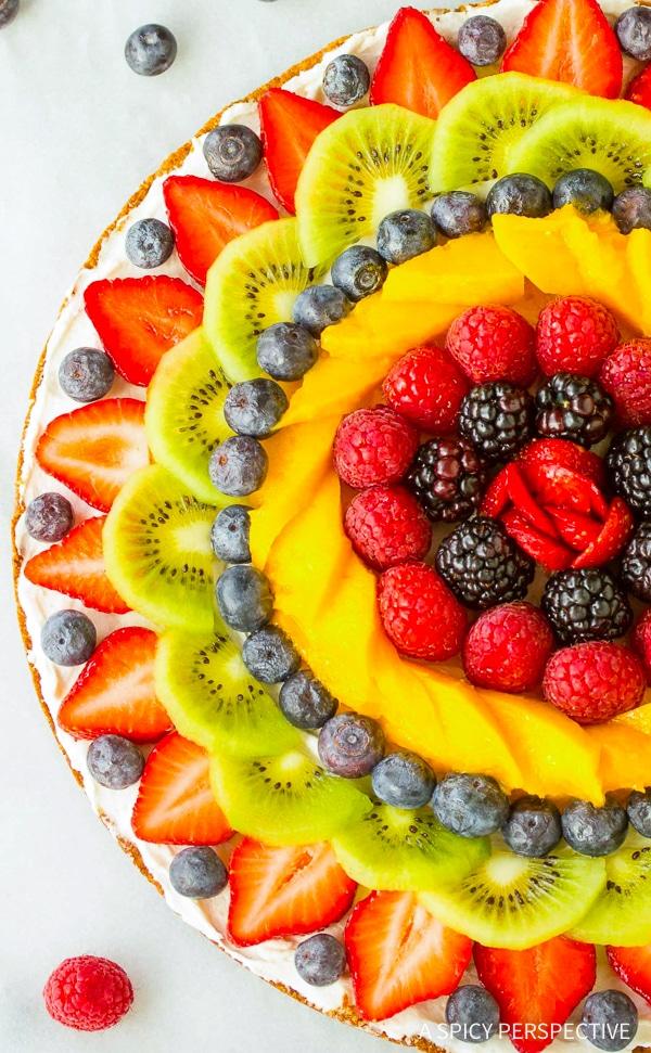 Dazzling Gluten Free Vegan Fruit Pizza Recipe