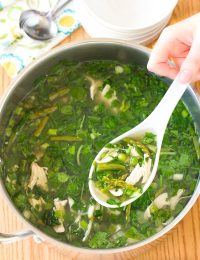 Lean Green Chicken Soup Recipe (Gluten Free, Dairy Free, Low Carb & Paleo!)