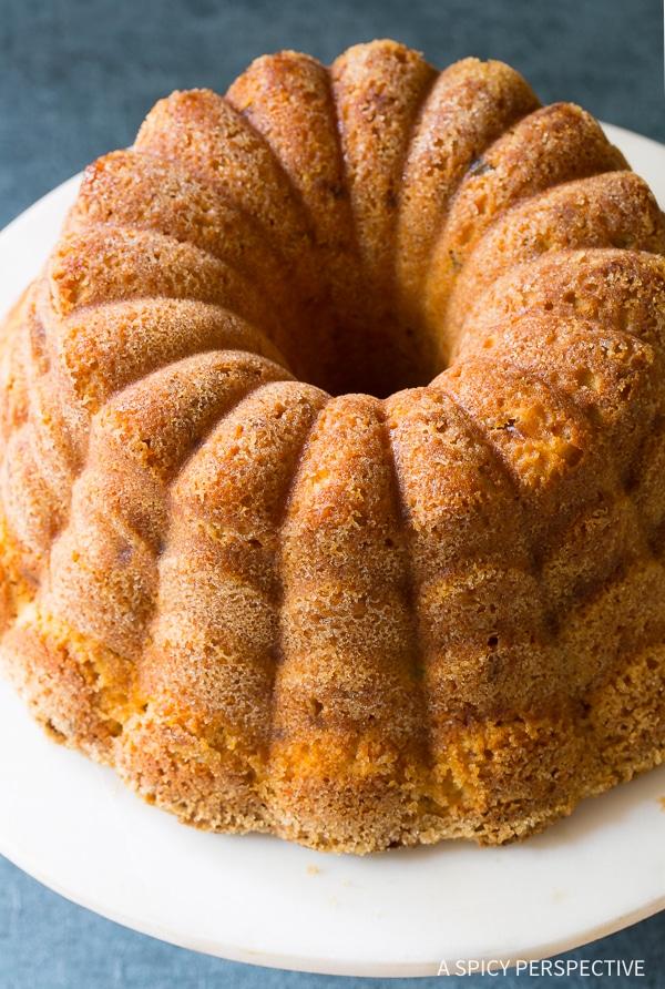 Best Green Chile Peach Pound Cake Recipe