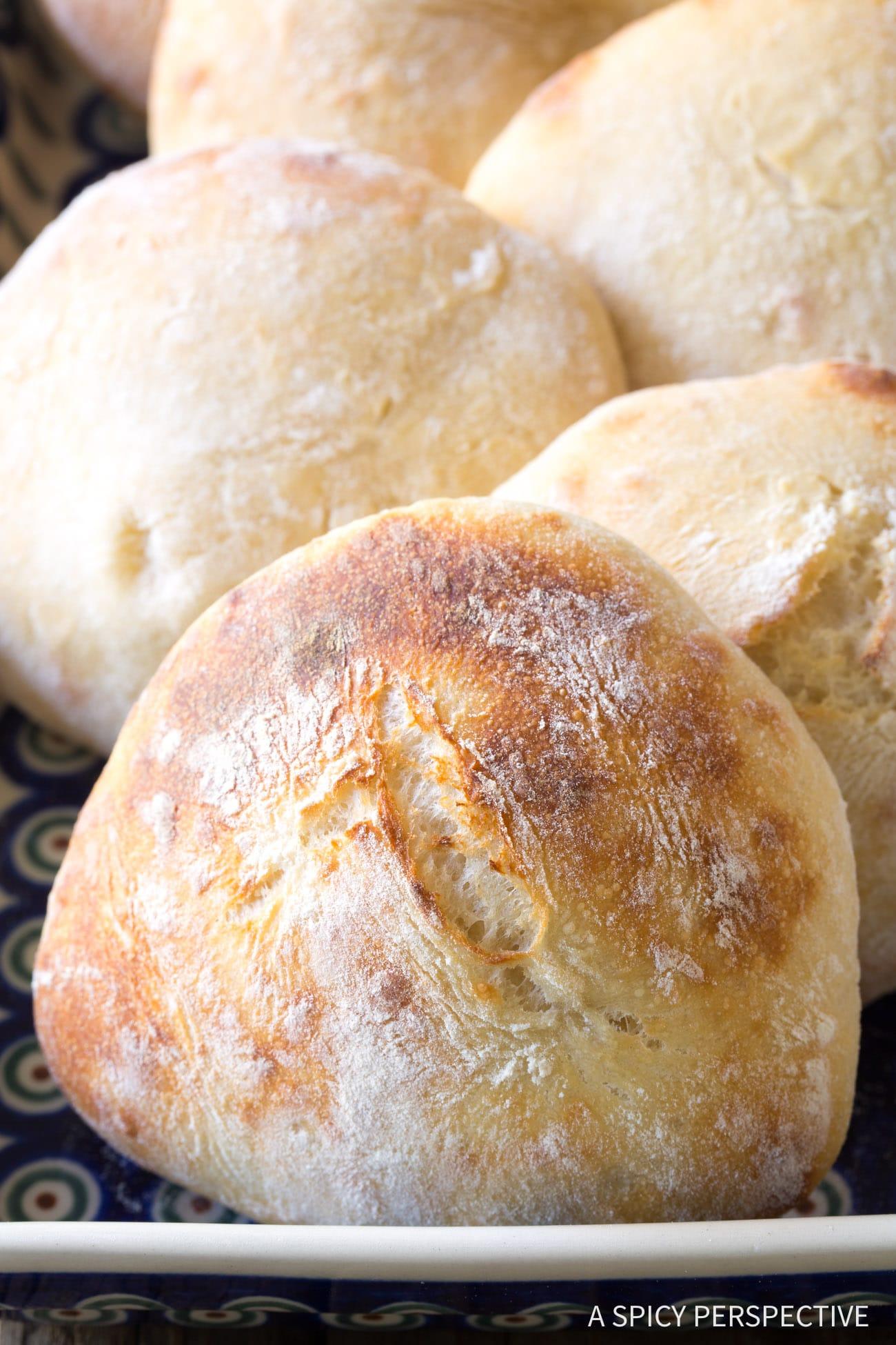 Pillowy Authentic Croatian Lepinja Bread Recipe (Bosnian)