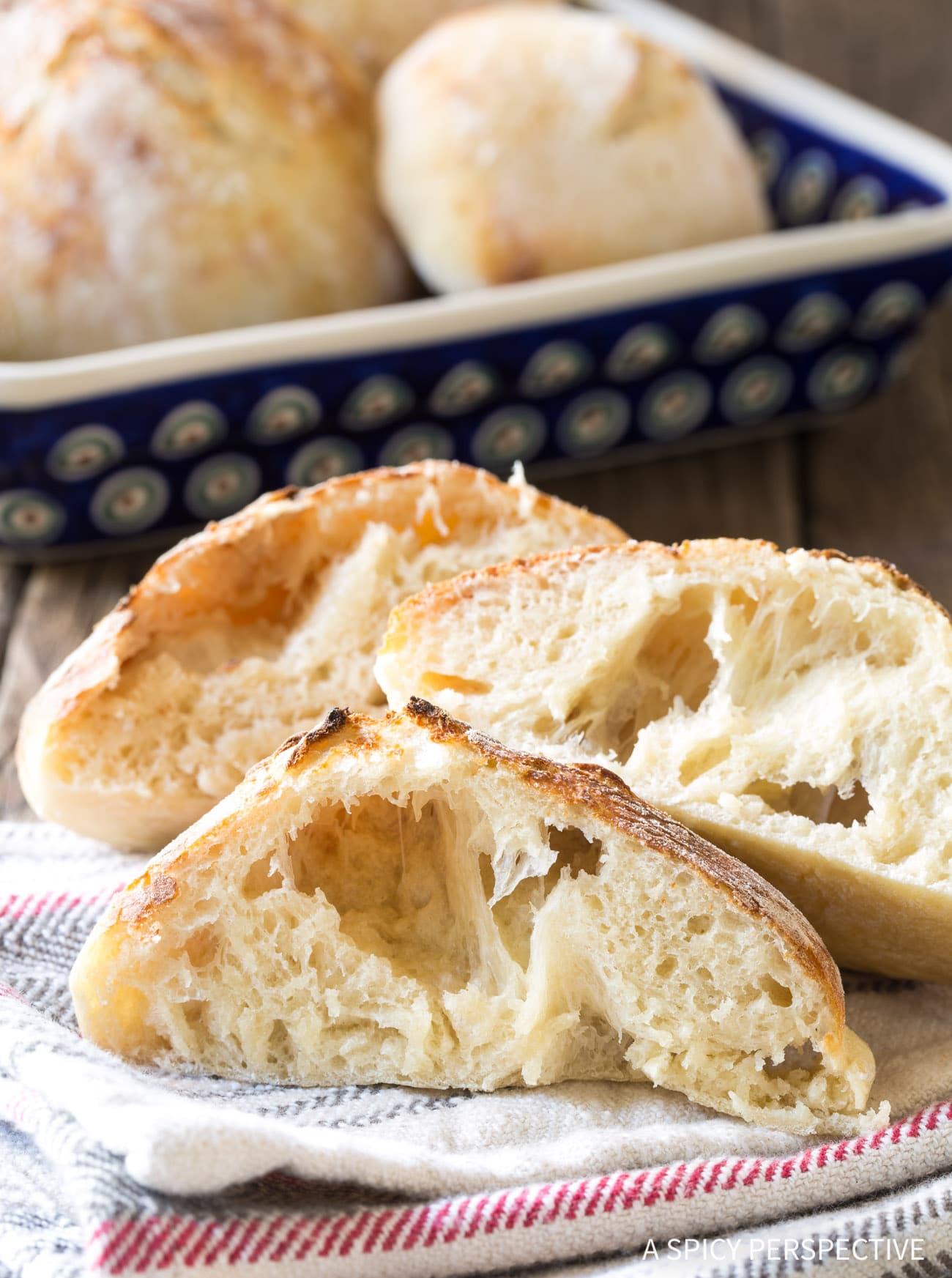 Bubbly Authentic Croatian Lepinja Bread Recipe (Bosnian)