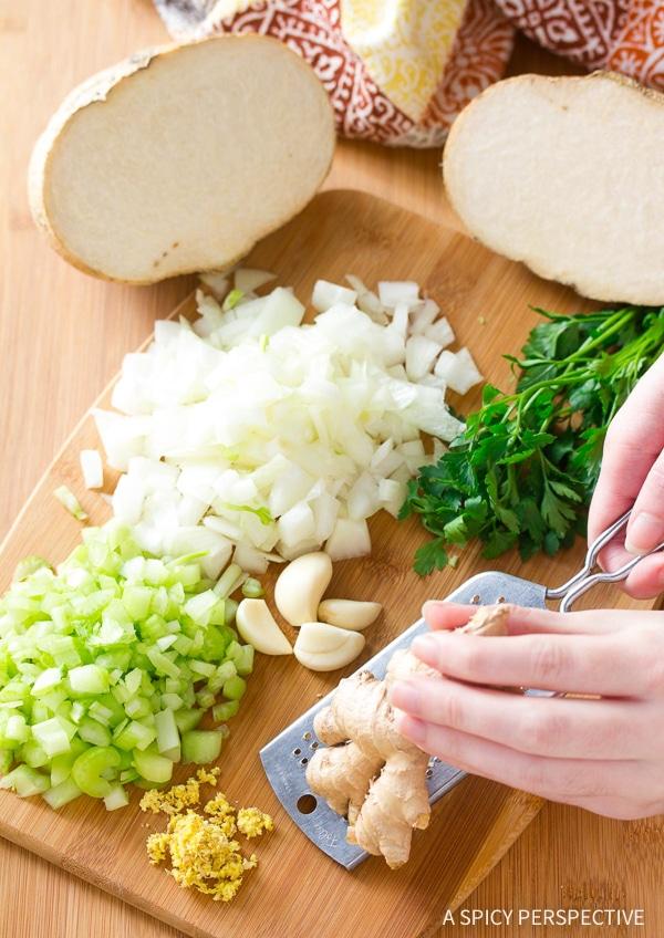How to Make Spring Pea Wasabi Soup Recipe (Vegan, Gluten Free & Dairy Free!)