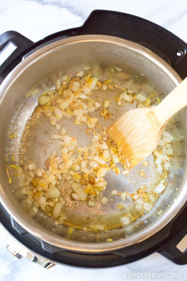 Making Instant Pot Chinese Sesame Chicken Recipe