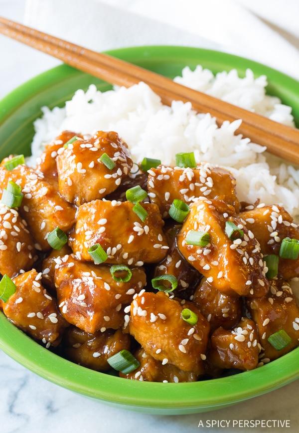 Instant Pot Chinese Sesame Chicken Recipe