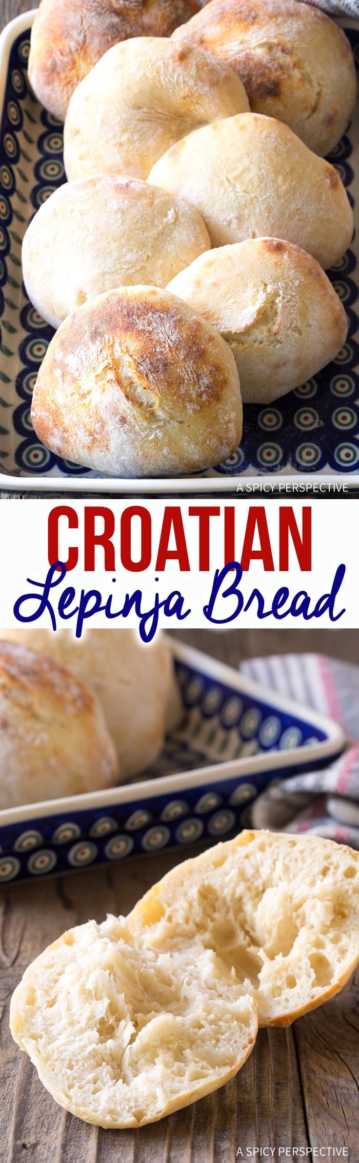 Best Authentic Croatian Lepinja Bread Recipe