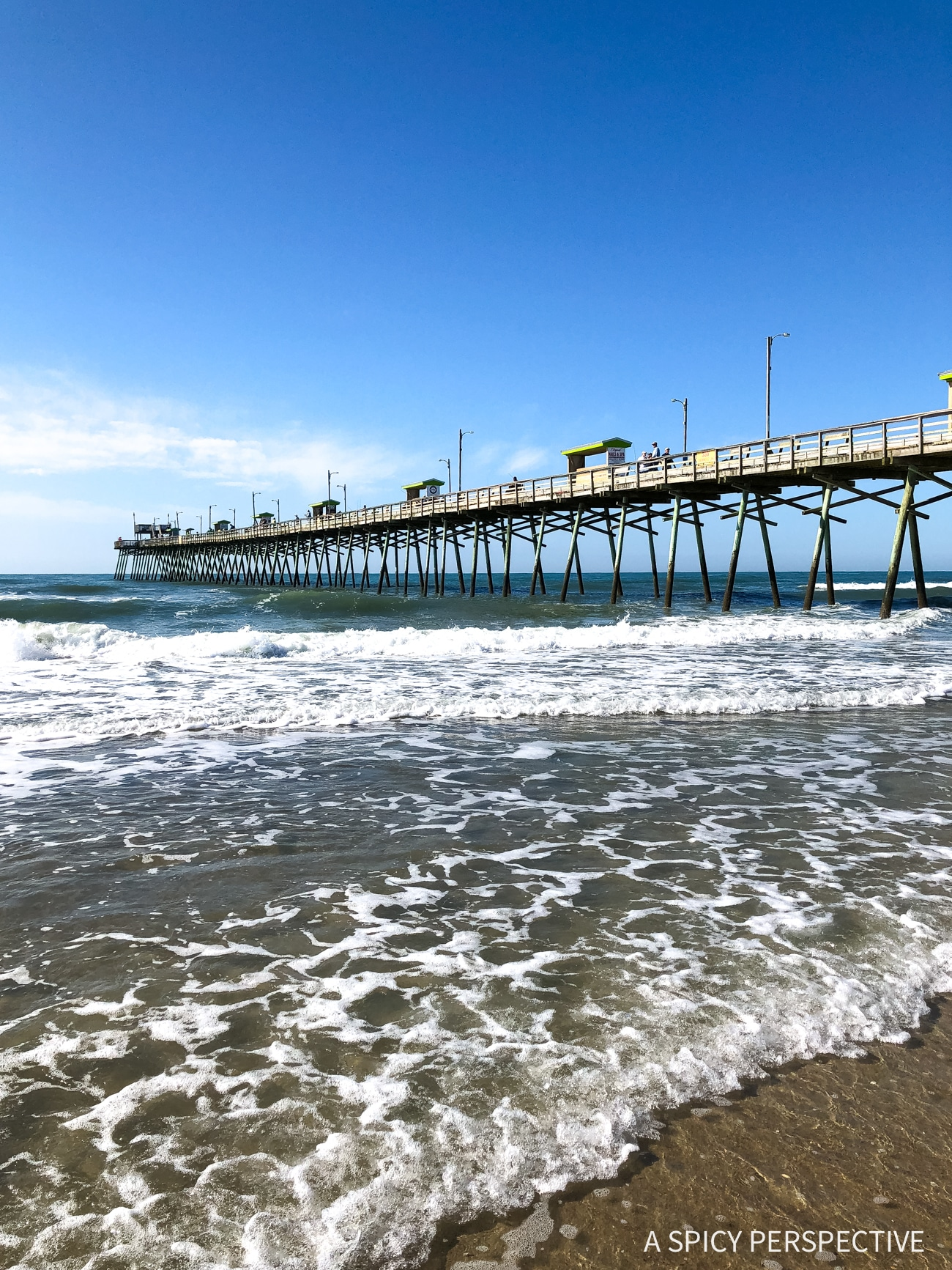Bogue Inlet Pier - Why You Should Visit The Crystal Coast Outer Banks NC (Emerald Isle Vacation Travel Tips!)