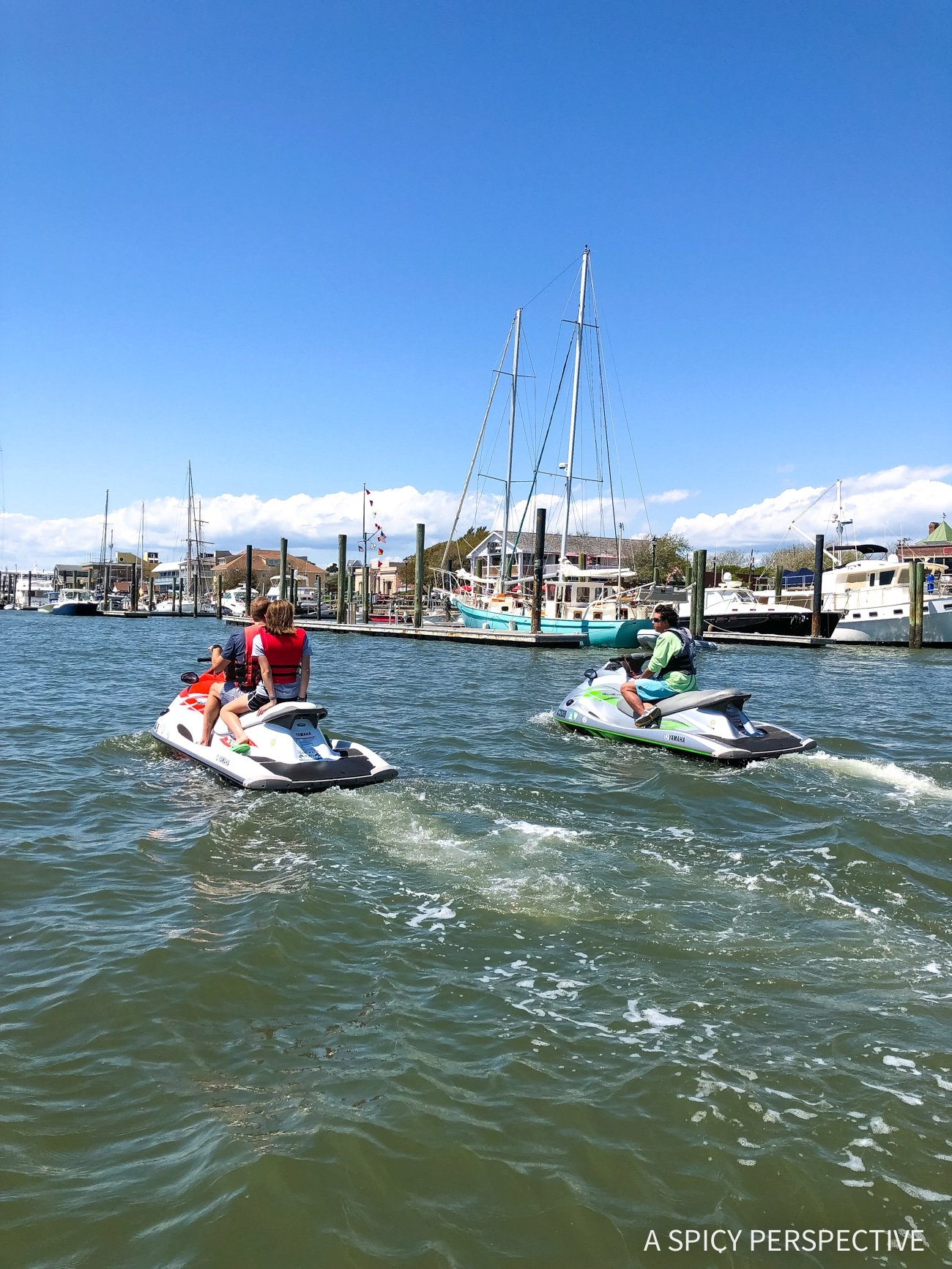 Jet Ski Tour - Why You Should Visit The Crystal Coast Outer Banks NC (Emerald Isle Vacation Travel Tips!)