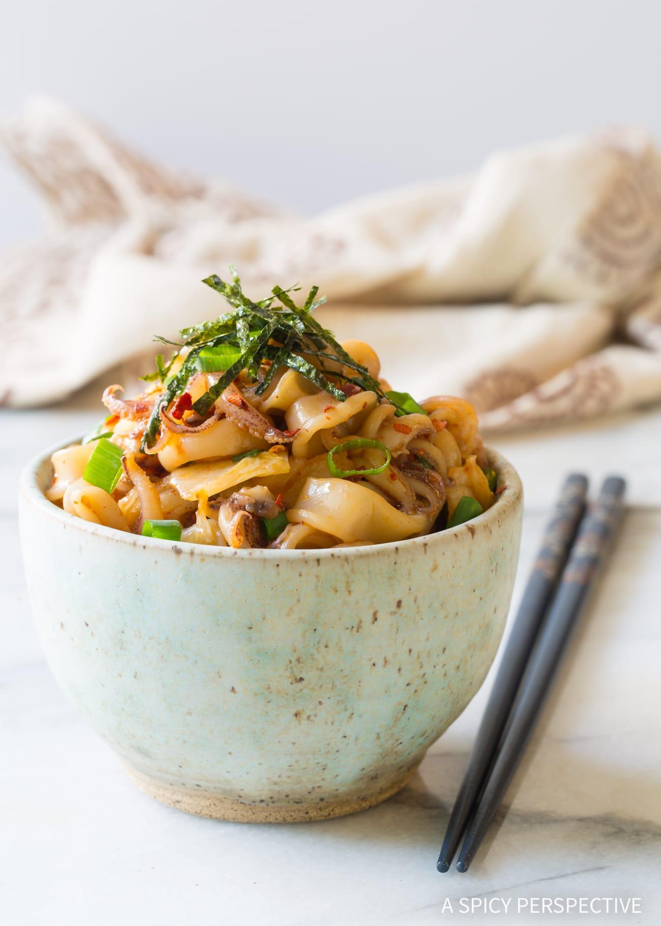 Love this Hawaiian Tako Poke Recipe (Octopus or Squid!)