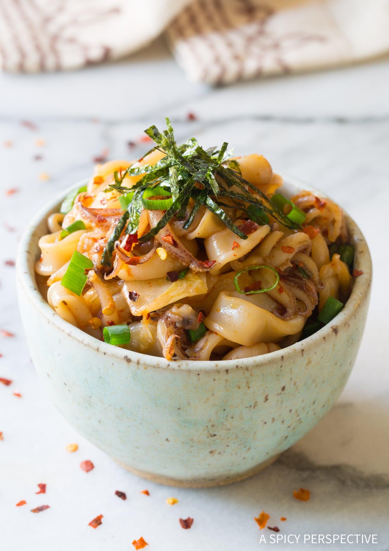 Simple Hawaiian Tako Poke Recipe (Octopus or Squid!)