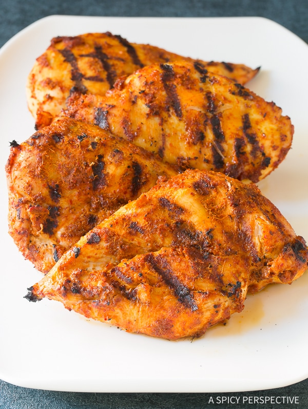 How to Make Thai Red Curry Grilled Chicken Salad Recipe