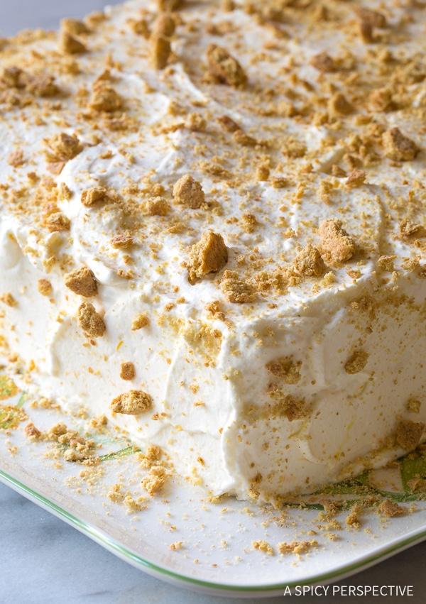 Perfect Lemon Blueberry Icebox Cake Recipe for Summer!