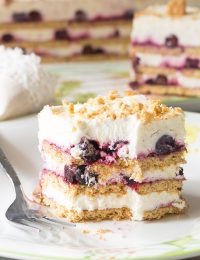 Lemon Blueberry Icebox Cake Recipe for Summer!