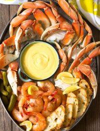 Spicy Mustard Seafood Sauce #GlutenFree #DairyFree #Ketogenic