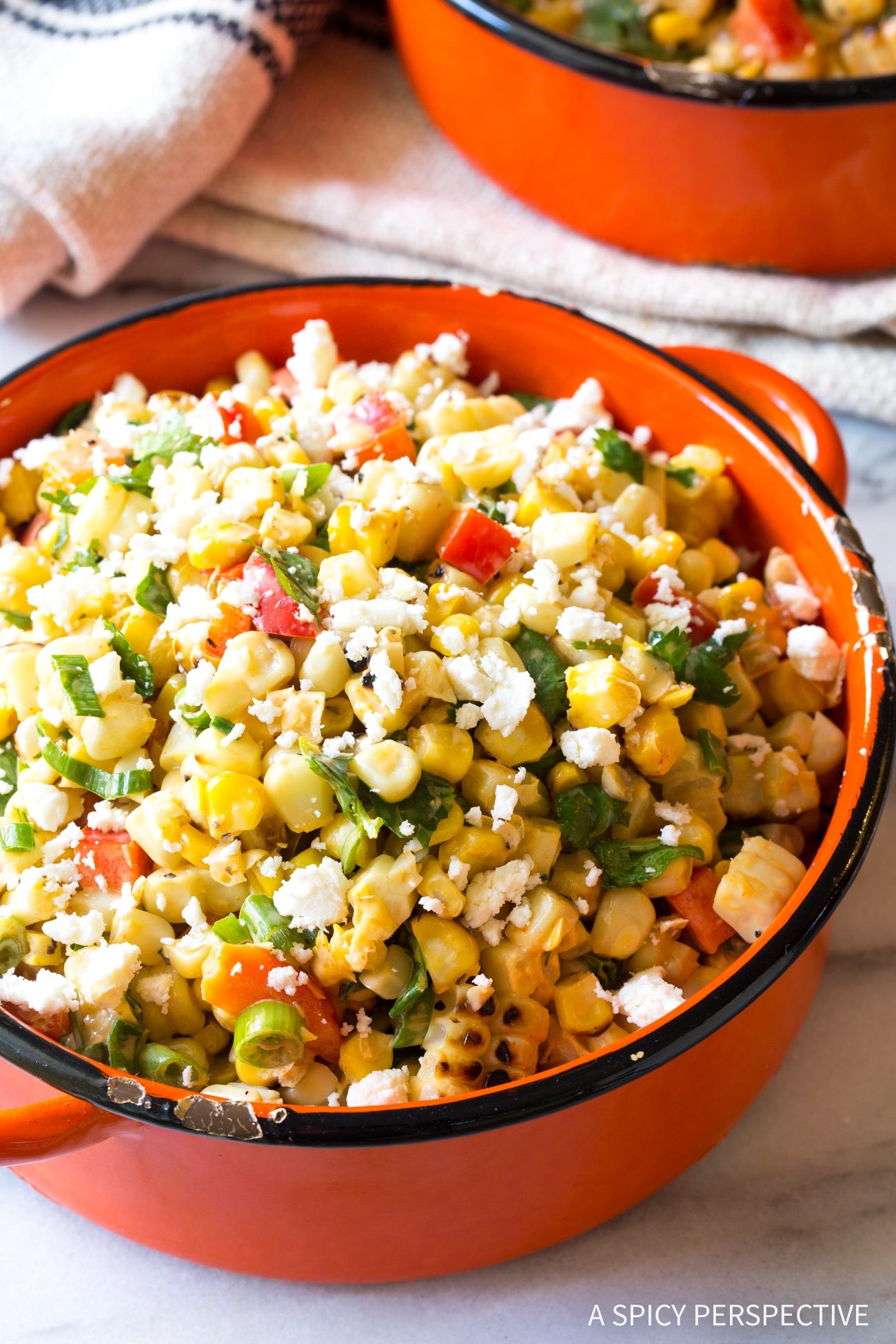 Best Grilled Mexican Street Corn Salad