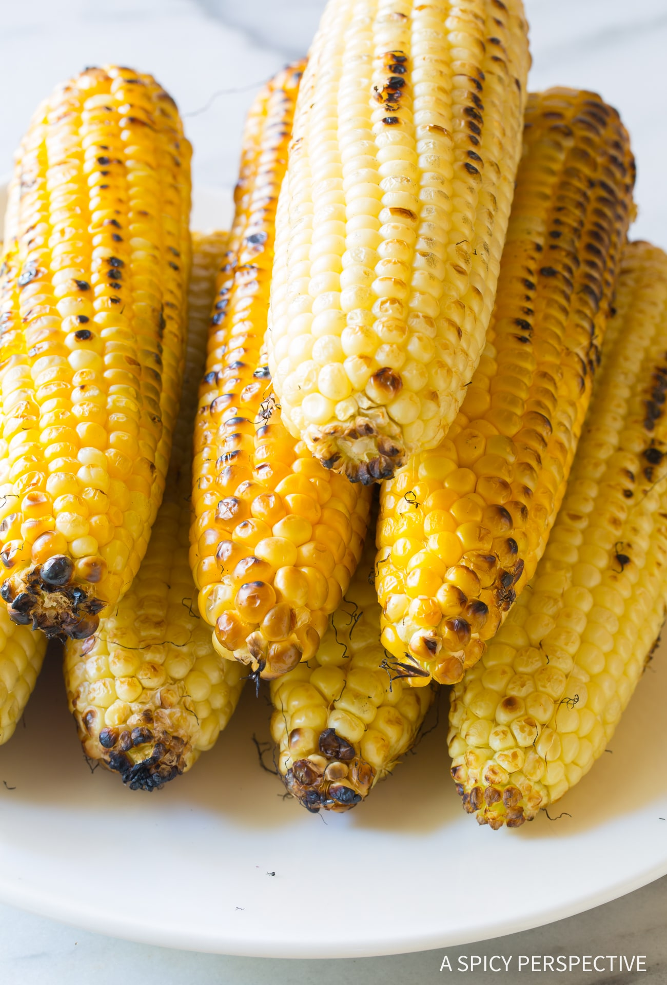 Making Grilled Mexican Street Corn Salad