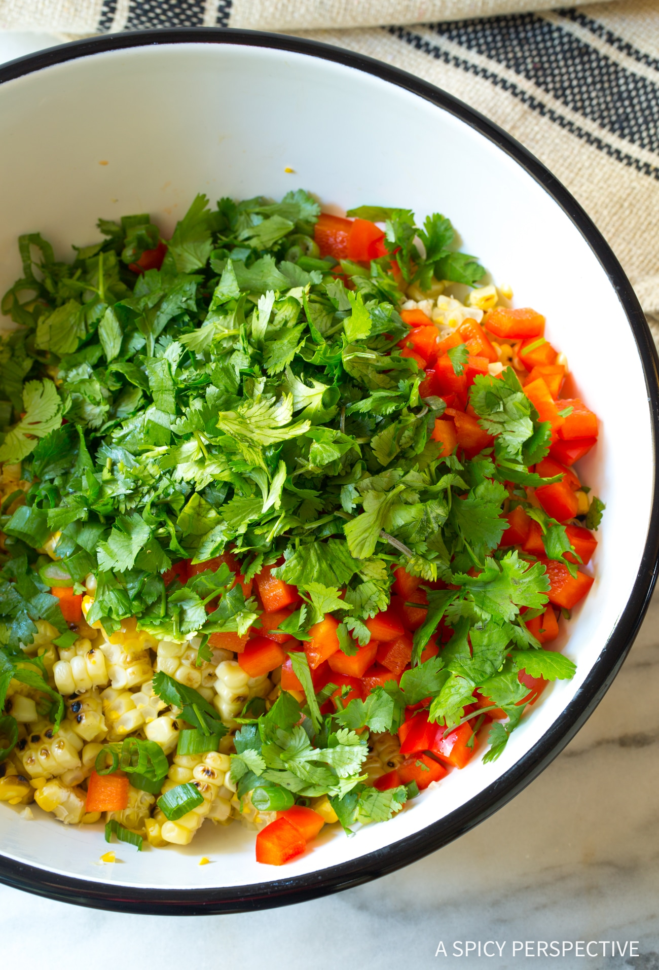 How To: Grilled Mexican Street Corn Salad