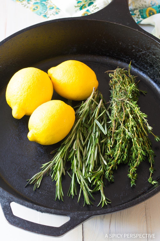Lemon and Herbs #ASpicyPerspective #ChickenThighs #BakedChickenThighs #HowLongtoBakeChickenThighs #BakedChickenThighsRecipe #Chicken #ChickenThighs #Keto #Paleo #GlutenFree
