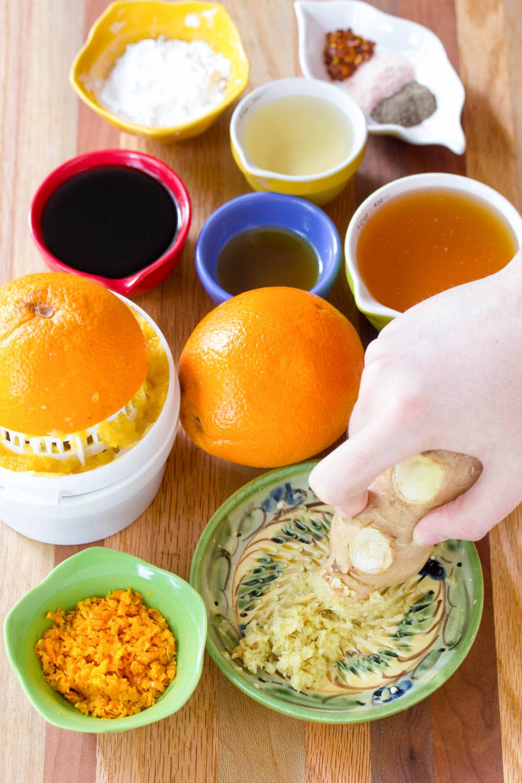 Making Skinny Chinese Orange Chicken Recipe #ASpicyPerspective