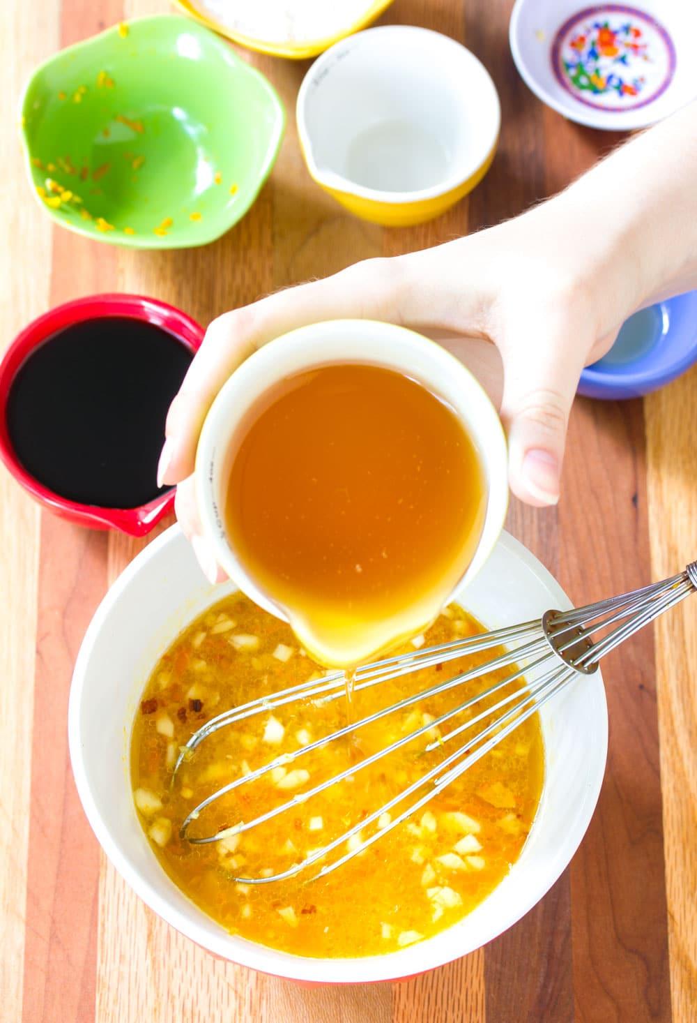 How To Make Skinny Chinese Orange Chicken Recipe #ASpicyPerspective