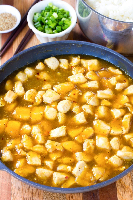 How To: Skinny Chinese Orange Chicken Recipe #ASpicyPerspective