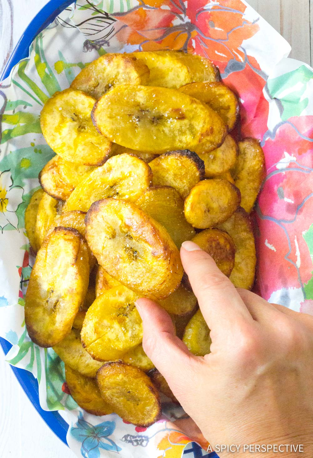 Perfect Baked Plantains Recipe #ASpicyPerspective #Paleo