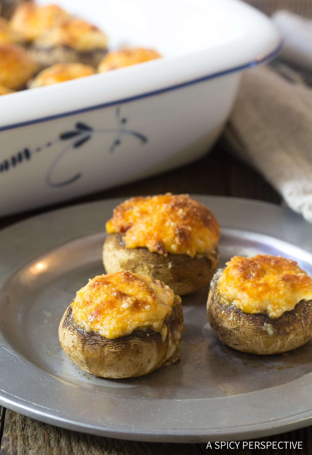 Best Ever Cheese Stuffed Mushrooms Recipe