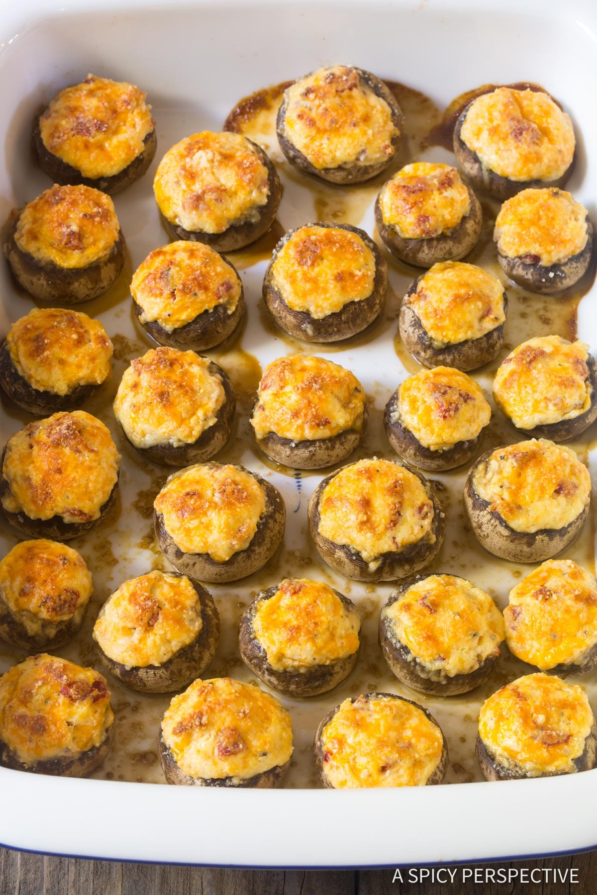 The Best Cheese Stuffed Mushrooms Recipe