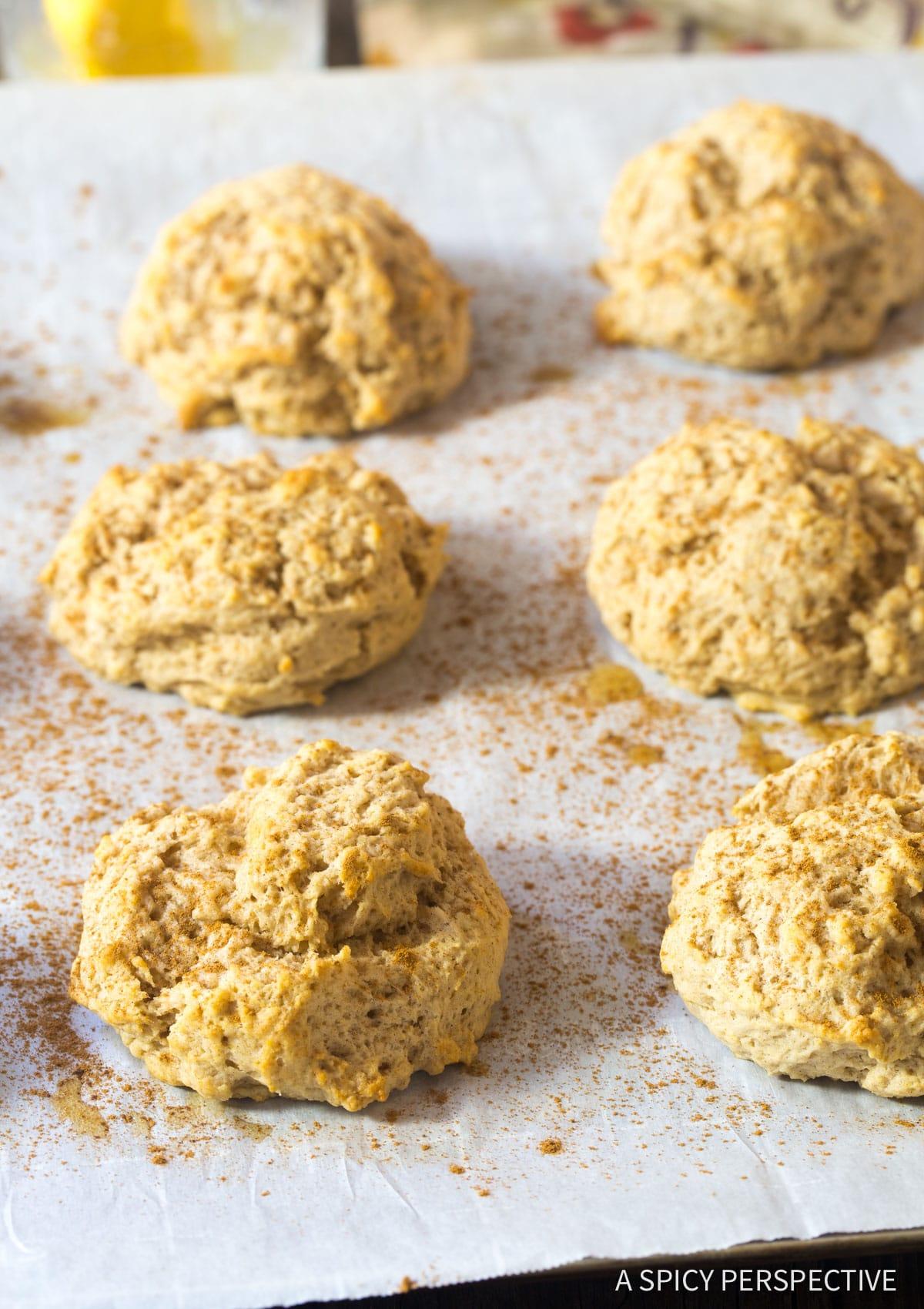 Hot Easy Cinnamon Drop Biscuits Recipe #ASpicyPerspective