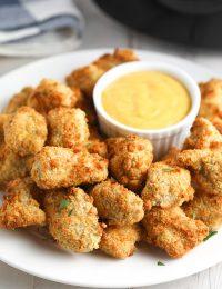 Air Fryer Chicken Nuggets (Gluten Free!) #healthy #skinny