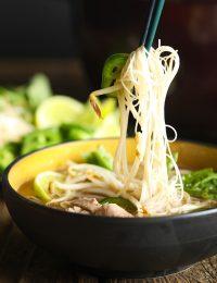 Low Carb Vietnamese Pho Soup Recipe #ASpicyPerspective #whole30 #paleo #lowcarb #keto #Soup