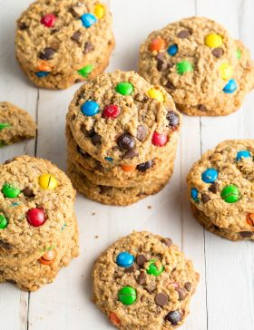 BEST Monster Cookies Recipe #ASpicyPerspective #cookie #glutenfree
