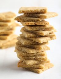 French Onion Keto Crackers Recipe #ASpicyPerspective #paleo #whole30 #ketogenic