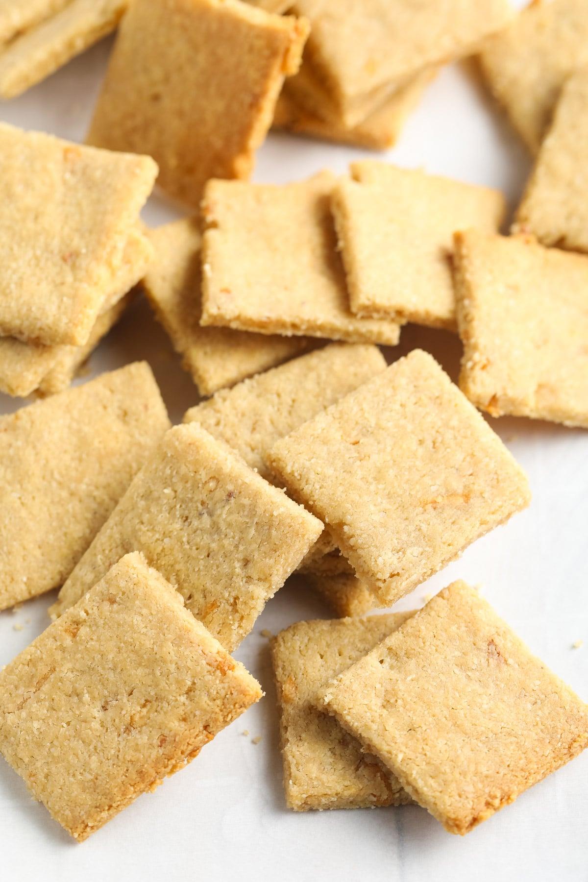 French Onion Keto Cracker Recipe: