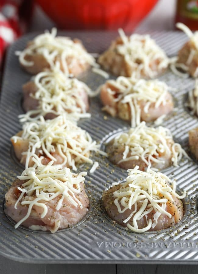 Must-Make Keto Chicken Lasagna Cups Recipe (Low Carb!) #ASpicyPerspective #ketogenic