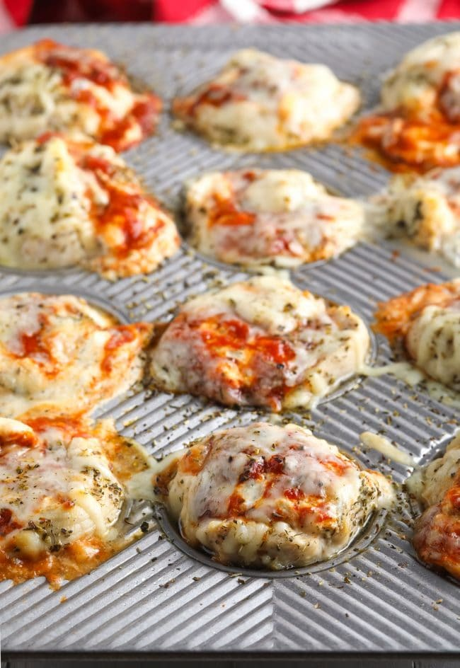 Amazing Keto Chicken Lasagna Cups Recipe (Low Carb!) #ASpicyPerspective #ketogenic