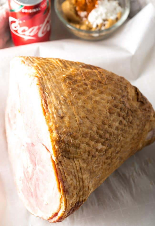 How To: Coca-Cola Baked Ham Recipe #ASpicyPerspective #ham #bakedham #hamglaze #cokeham