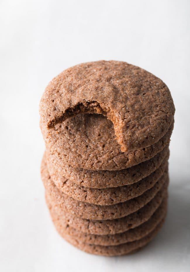 The Absolute Best Chocolate Sugar Cookies Recipe #ASpicyPerspective #cookies #chocolate #easter #spring #holiday
