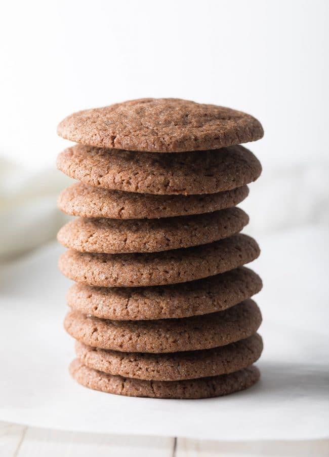 Very Best Chocolate Sugar Cookies Recipe #ASpicyPerspective #cookies #chocolate #easter #spring #holiday