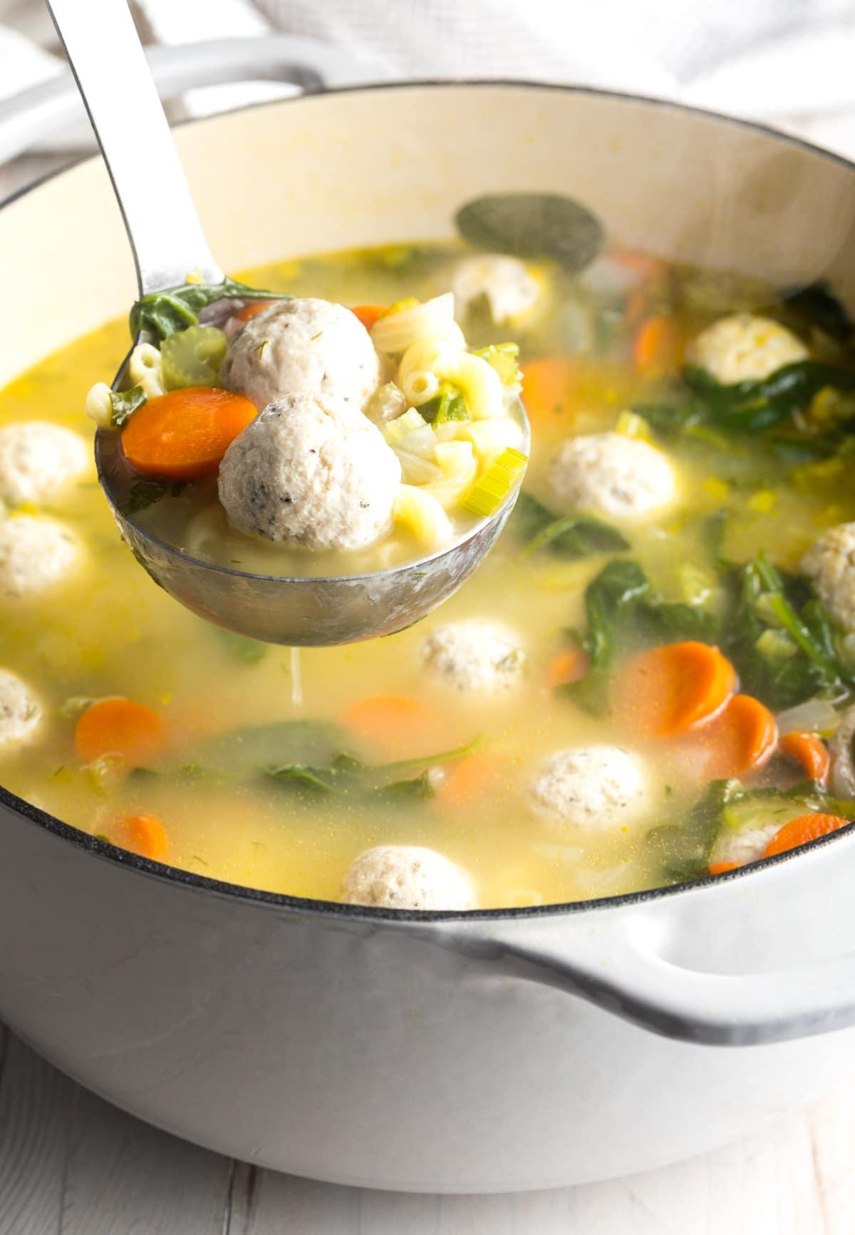 Italian Wedding Soup Can.Healthy Italian Wedding Soup