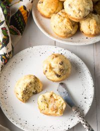 Traditional Irish Soda Bread Muffins Recipe #ASpicyPerspective #irish #stpaddysday
