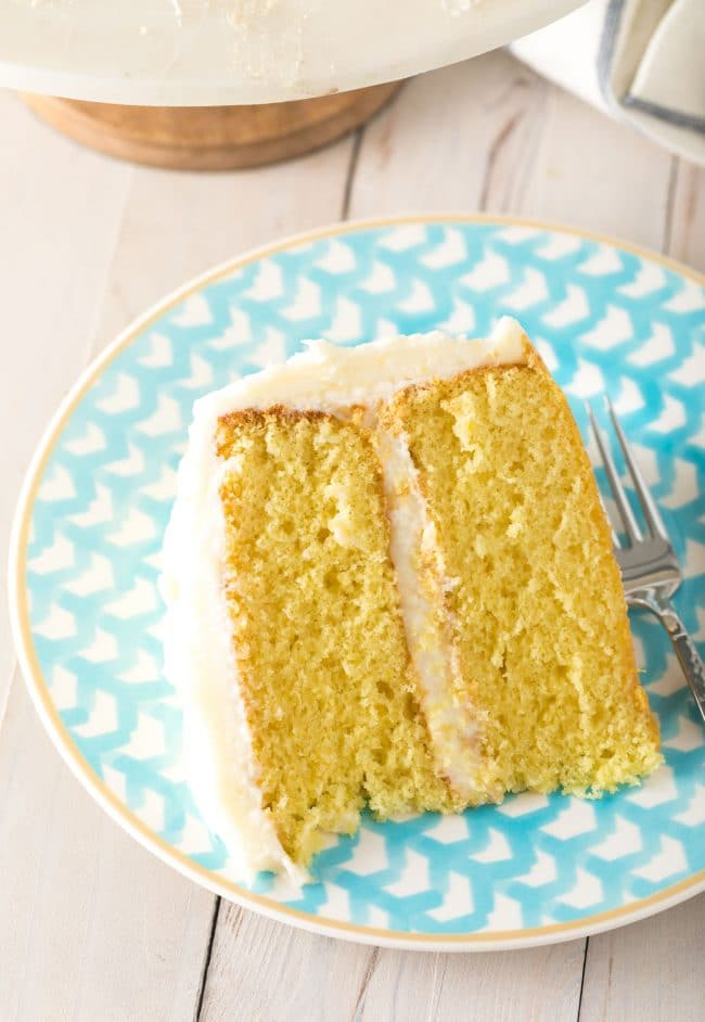Absolute Best Lemon Buttermilk Cake Recipe #ASpicyPerspective #lemon #cake #easter