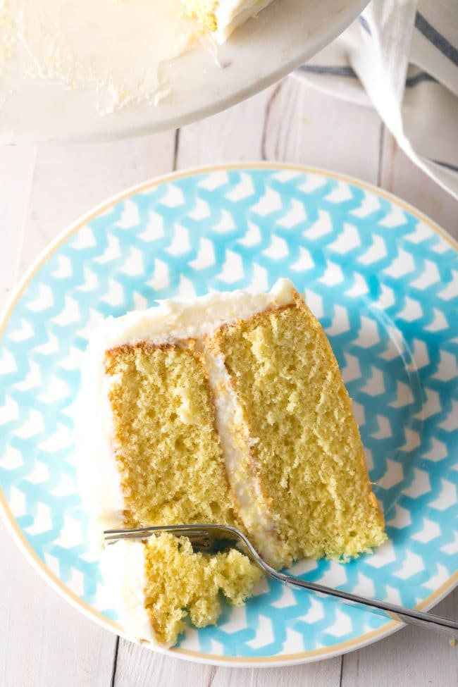 Best Buttermilk Cake Recipe #ASpicyPerspective #lemon #cake #easter