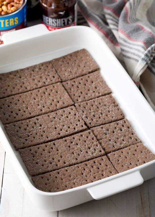 Making Buster Bar Ice Cream Cake Recipe #ASpicyPerspective #summer #holiday #july4th #fudge
