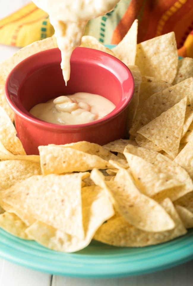 Most Amazing Queso Blanco Dip Recipe #ASpicyPerspective #cheese #whitequeso