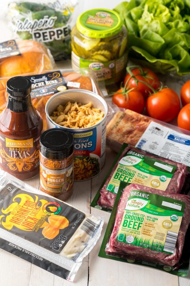Cowboy Burger Ingredients