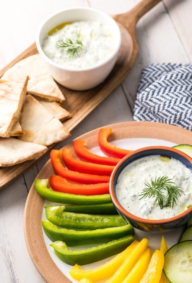 Gyro Sauce (Recipe) #Vegetarian #GlutenFree #LowCarb #Keto