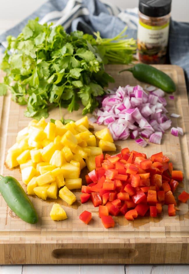 Pineapple Salsa Recipe #ASpicyPerspective #healthy #paleo