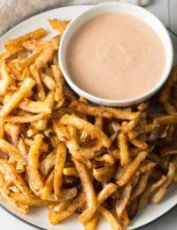 Best Baked Turnip Fries Recipe #ASpicyPerspective #lowcarb #airfryer #baked #healthy