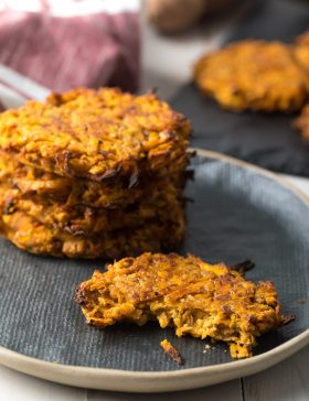 Paleo Sweet Potato Hash Browns Recipe #ASpicyPerspective #paleo #whole30 #glutenfree
